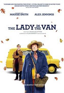 Lady in the Van, The cover