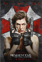 Resident Evil: The Final Chapter cover